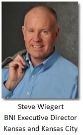 Steve Wiegert, Executive Director BNI Kansas and Kansas City Region